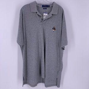 Ralph Lauren Polo Shirt 2XL NWT Basketball Bear